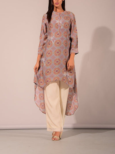 Cotton, Embroidered, Kurta, Kurtas, Kurti, Regular wear, Short kurta, Silk, Straight, Tunic,SALE