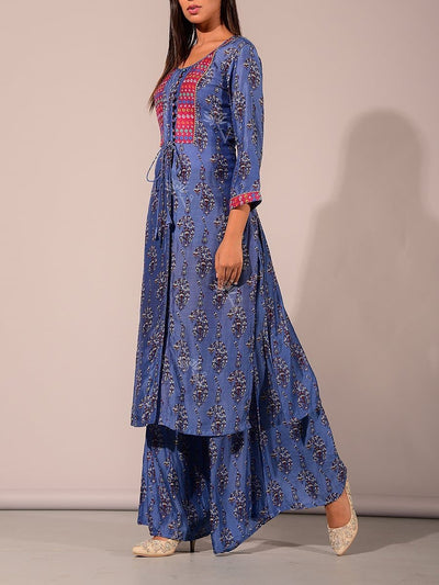 Block Printed Kurta Set
