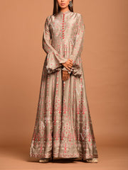 Anarkali, Anarkalis, Gown, Gowns, Printed, Silk, Light weight, Party wear, Long kurti, Floor length