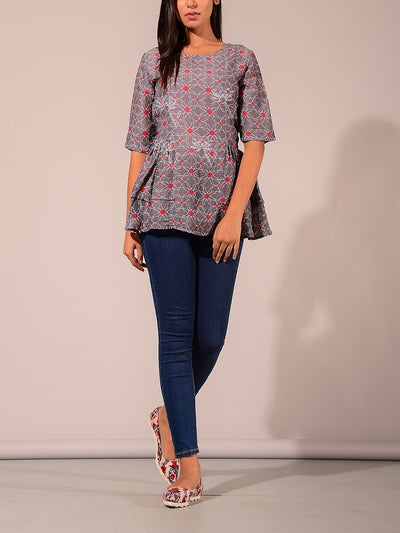 Casual wear, Cotton, Kurta, Kurti, Kurtis, Pure, Regular wear, VJ0506