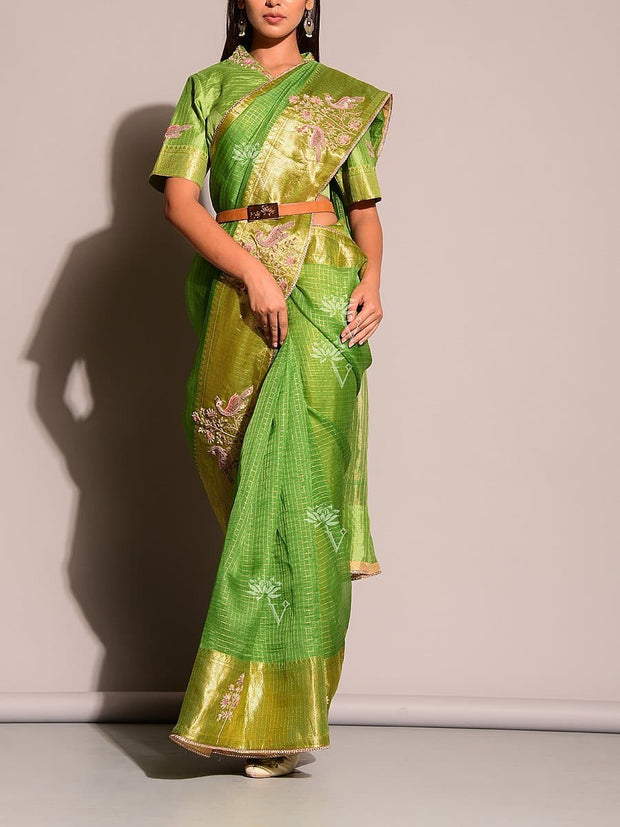 Sarees, Party Wear, Sheer, Silk, Pure Organza, Organza, Dola Silk