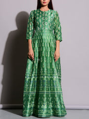 Anarkali, Anarkalis, Suit, Gown, Gowns, Silk, Silk Suit, Floor Length, Printed, Heavy, Long Kurti, Party Wear