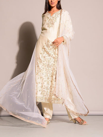 Off White Salwar Suit