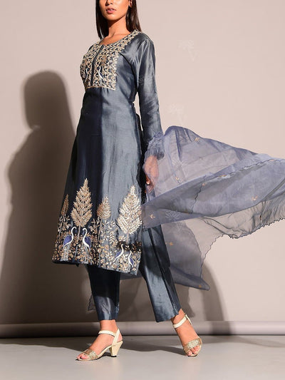 Grey Salwar Suit