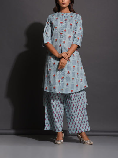 Kurta set, Kurta, Kurti, Pant set, Traditional wear, Traditional, Traditional outfit, Cotton, Pure cotton, 100% cotton kurta, Regular wear, Casual wear, Ethnic wear, Printed
