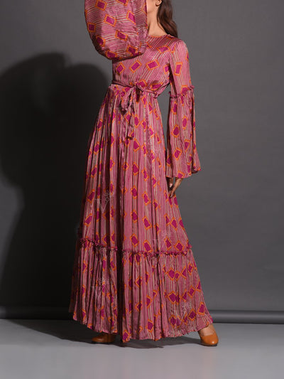 Anarkali, Anarkalis, Gown, Gowns, Printed, Crepe, Crepe gown, Western, Westerns, Maxi dress, Floral Printed