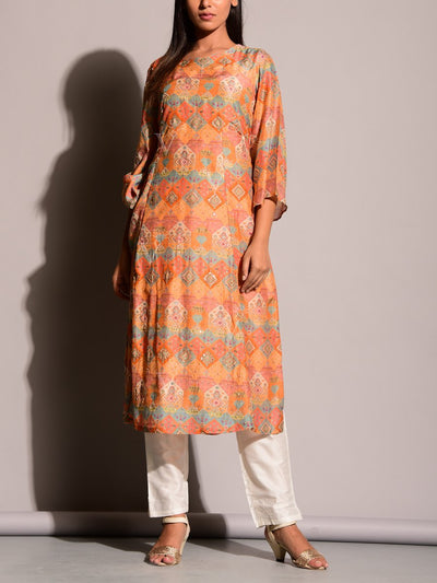 Printed, Highlighted, Kurti, Kurti Set, Regular Wear, Light Weight