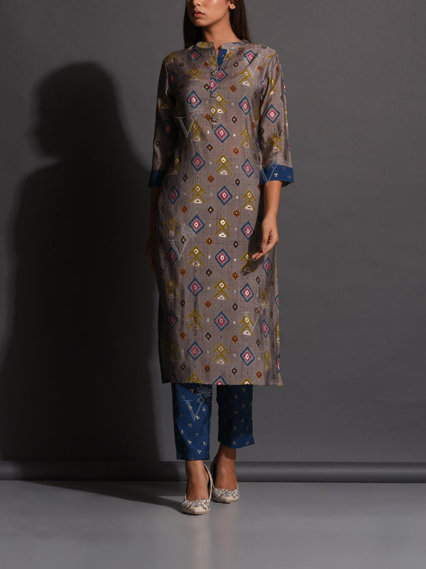Kurti, Kurta, Kurtis, Kurta set, Traditional, Traditional wear, Traditional outfit, Printed, Muslin, Muslin kurti, Casual wear, Regular wear, DD00
