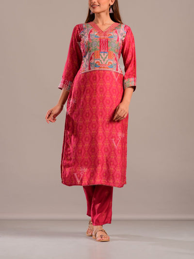 Kurta, Kurta set, Cotton, Silk, Traditional wear, Traditional outfit, Festive wear, Ethnic wear, Kurti, Kurta, Red