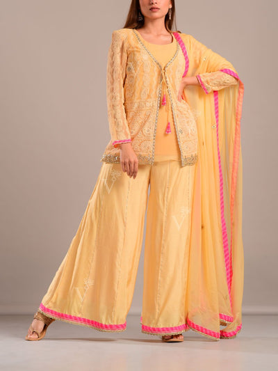 Suit, Suit set, Kurti, Kurta, Traditional, Traditional wear, Traditional outfit, Ethnic wear, Festive Wear, Party wear, Designer wear, Palazzo, Palazzos, Georgette, Bemberg