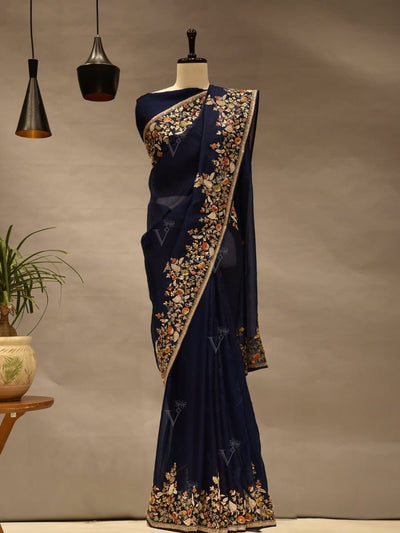 Saree, Sarees, Drape, Gota patti, Organza, Party wear, Heavy, Traditional