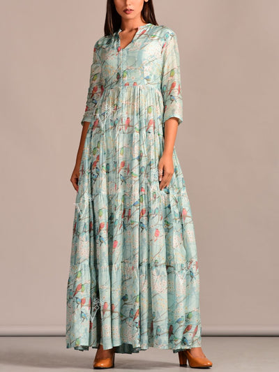 Dress, Dresses, Western Dress, Pastel, Printed, Summer, Regular Wear, Casual Wear, Designer Wear, Light Weight