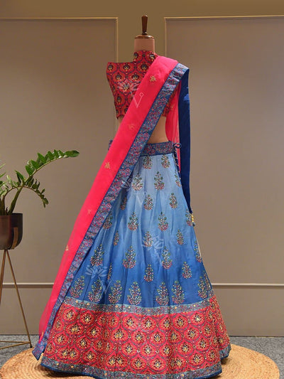 Lehenga Set, Lehengas, Lehenga, Traditional Wear, Prints, Printed Lehenga, Digital Print , Light Lehengas, Light Wear