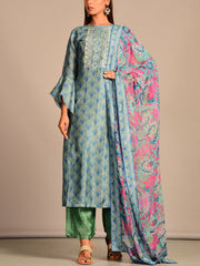 Suit, Suits, Suit set, Printed, Silk, Cotton, Regular wear, Casual wear, Traditional wear, Traditional outfiit