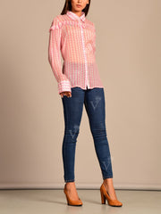 Pink Vasansi Silk Top