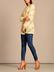 Lemon Yellow Vasansi Silk Top