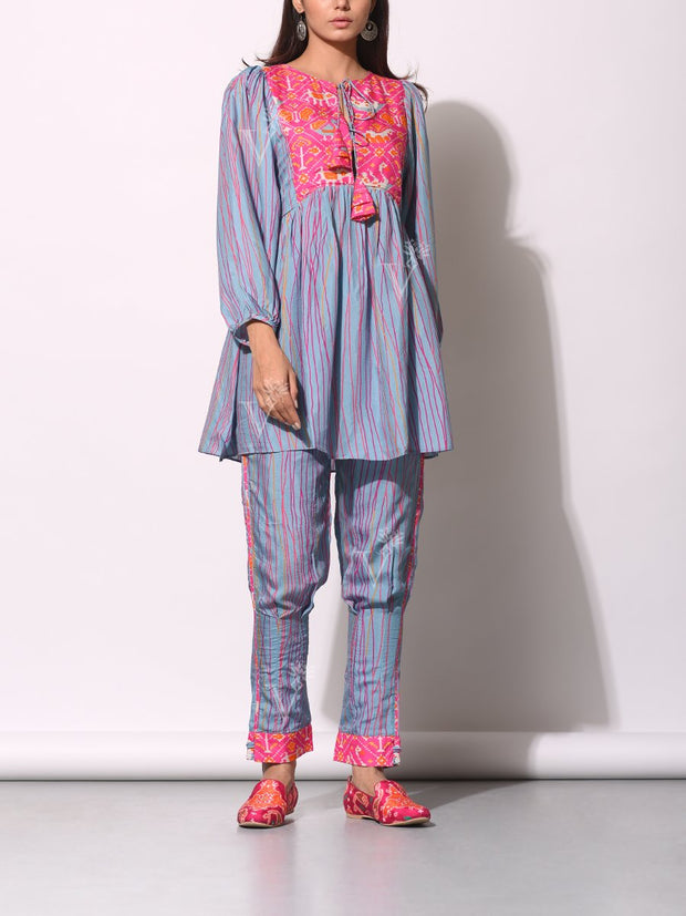 Pant set, Kurta set, Printed, Striped, Stripes, Patola, Western, Fusion wear, Casual wear, Traditional, Light weight