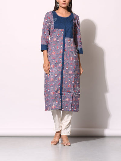 Kurti, Kurta, Printed, Traditional, Traditional wear, Traditional outfit, Cotton, Pure cotton, 100% cotton, Regular wear, Casual wear