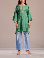 Kaftan, Kurti, Kurta, Suit, Tunic, Cotton blend, Cotton, Regular wear, Embroidered, Light weight, Casual wear