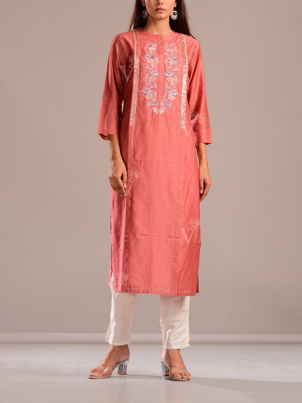 Kurti, Kurta, Suit, Tunic, Cotton Blend, Cotton, Regular wear, Embroidered, Light weight, Casual wear
