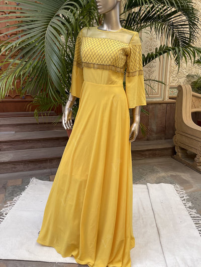 Gown, Gowns, Evening gown, Anarkali, Anarkalis, Embellished, Party wear