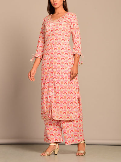 Kurta, Kurta Set, Suit, Kurti, Traditional, Printed, Pastel, Light Weight, Silk, Silk Kurti, Festive Wear, Haldi Function, SALE