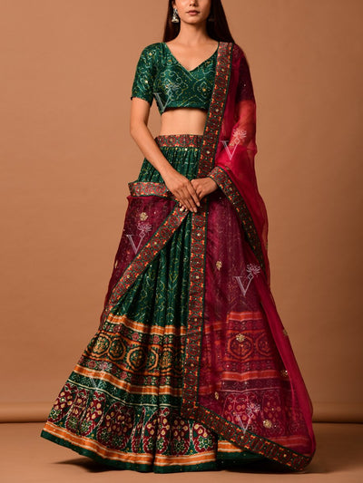 Lehenga set, Lehengas, Lehenga, Traditional wear, Prints, Printed lehenga, Digital print , Light lehengas, Light wear,