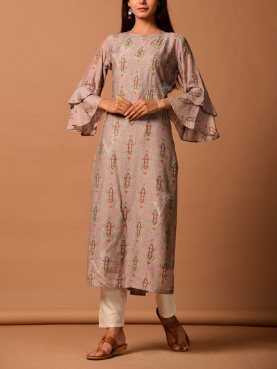 Kurta, Kurta set, Festive wear, Suit, Suit set, Bandhani, Bandhej, Poshak, Poshaak, Silk, Cotton silk, Traditional wear, Palazzo, Dropship