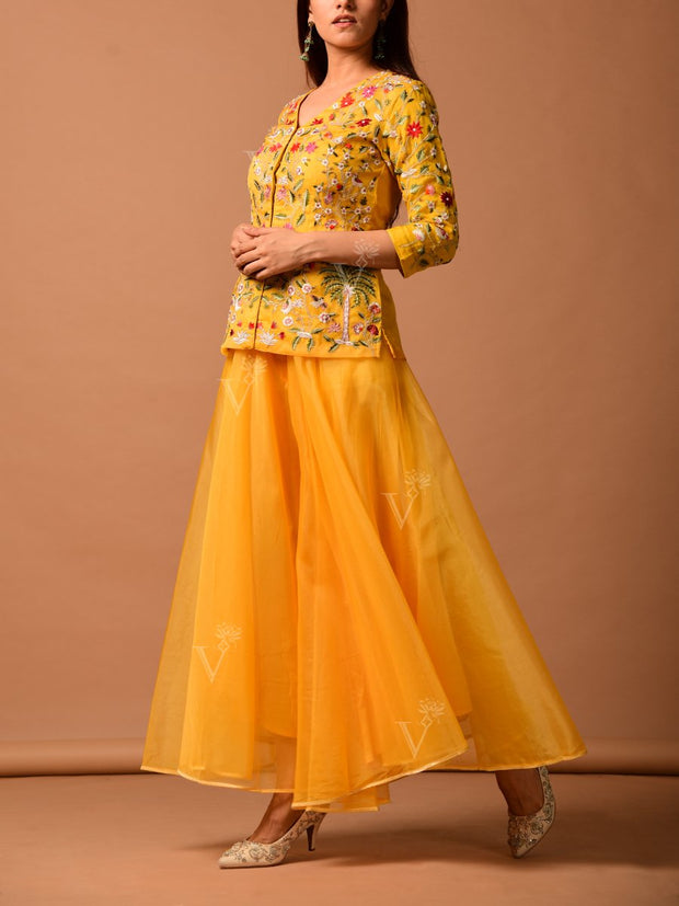 Anarkali, Anarkalis, Suit, Gown, Gowns, Silk, Silk Suit, Floor Length, Printed, Light Wear, Long Kurti, Bandhani, Bandhej, Festive Wear