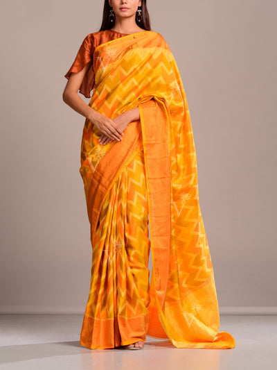 Saree, Sarees, Party wear, Chevron,  Regular wear, Traditional outift, Traditional wear, Silk, Banarasi Silk, Weaving, Handloom