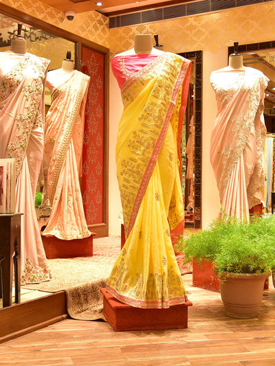 saree, georgette, silk, banarasi, regular wear, traditional wear, leheriya, bandhani