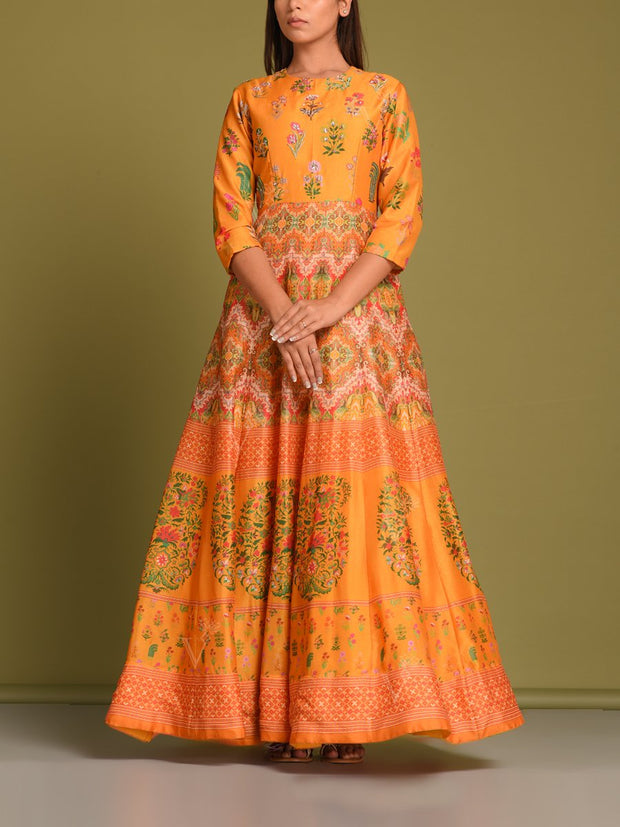 Anarkali, Anarkalis, Gown, Gowns, Traditional, Traditional outfit, Traditional wear, Party wear, Highlighted, DD14, MTO, VK