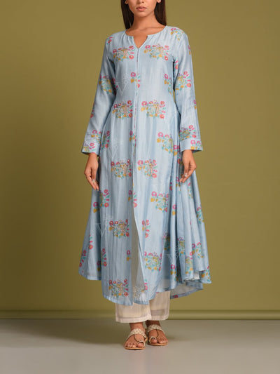 Kurti, Kurtis, Printed, Gota work, Light weight, Regular wear, Casual wear, DD14, MTO, U1