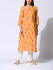 Kurti, Kurtis, Cotton, Regular wear, Casual wear, Traditional, Traditional wear, Printed, Kurta, Straight kurti