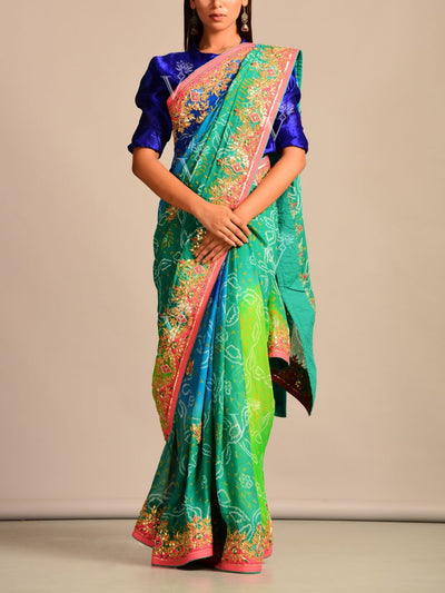 Saree, Sarees, Handloom, Weaving, Gota patti, Embroidered, Traditional wear, Traditional outfit, Party wear, Wedding wear, Rajasthani, Handcrafted