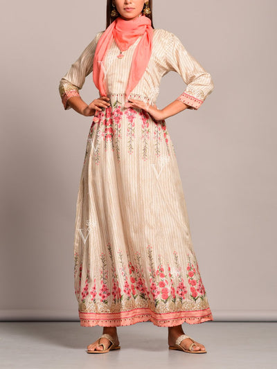 Anarkali, Anarkalis, Gown, Gowns, Printed, Embroidery, Traditional wear, Traditional outfit, Traditional, Regular wear, Casual wear