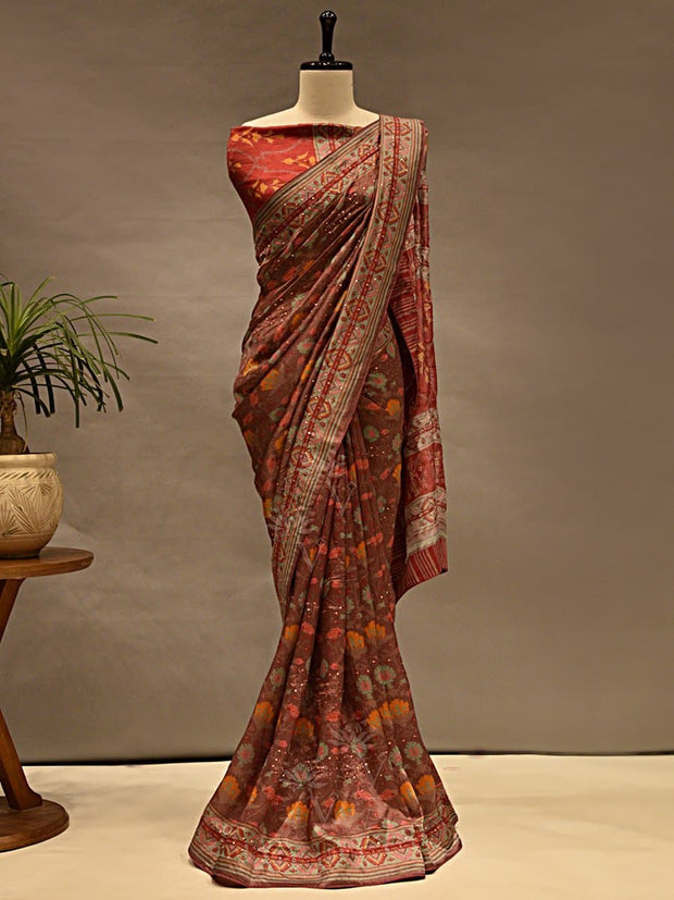 Sarees, Saree, Printed Sarees, Printed Saree, Casual Wear, Daily Wear, Light Wear, Silk Sarees, Prints, Digital Prints