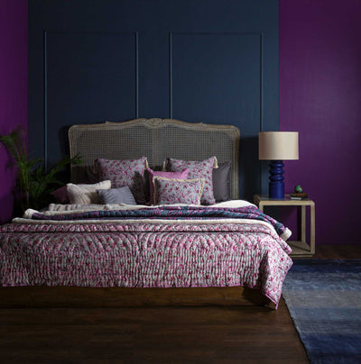 Modern Plum Curated Full bedding ensemble set of 13 | LUXURY