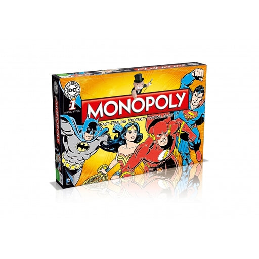 Monopoly DC Comics Retro-Boardgames-Bens Toy Chest Ltd