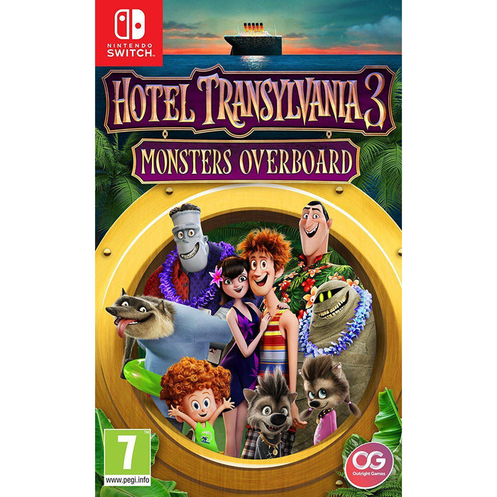 Hotel Transylvania 3: Monsters Overboard-games-Bens Toy Chest Ltd