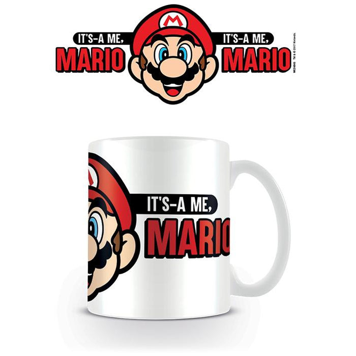 Its a Me Mario Mug-Mugs-Bens Toy Chest Ltd