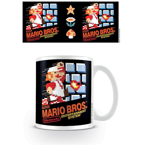 Mario Nes Cover Mug-Mugs-Bens Toy Chest Ltd