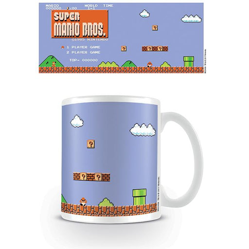 Mario Retro Mug-Mugs-Bens Toy Chest Ltd