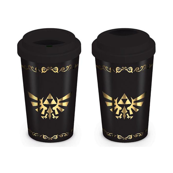 Zelda Triforce Travel Mug-Mugs-Bens Toy Chest Ltd