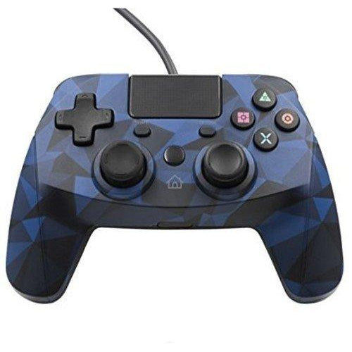 PS4 Controller Snakebyte Blue-Controller-Bens Toy Chest Ltd