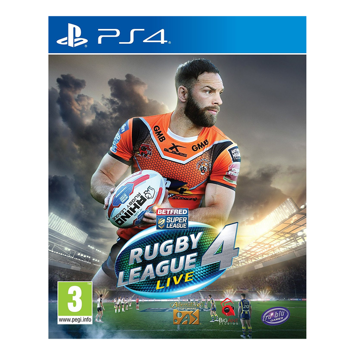Rugby League Live 4-games-Bens Toy Chest Ltd