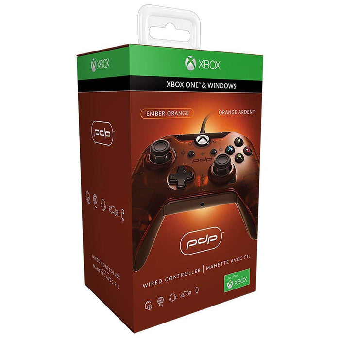 Xbox One Wired Controller Orange-Controller-Bens Toy Chest Ltd