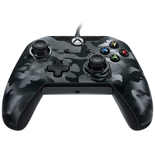 Xbox One Wired Controller Black Camo-Controller-Bens Toy Chest Ltd