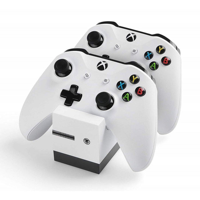 Xbox One Twin Charger White-Charger-Bens Toy Chest Ltd
