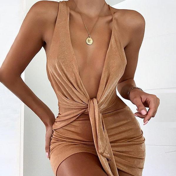 Liliana Backless Dress | BodyCon